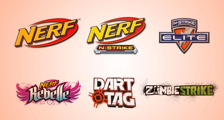 Alle Nerf Blaster Serien Marken