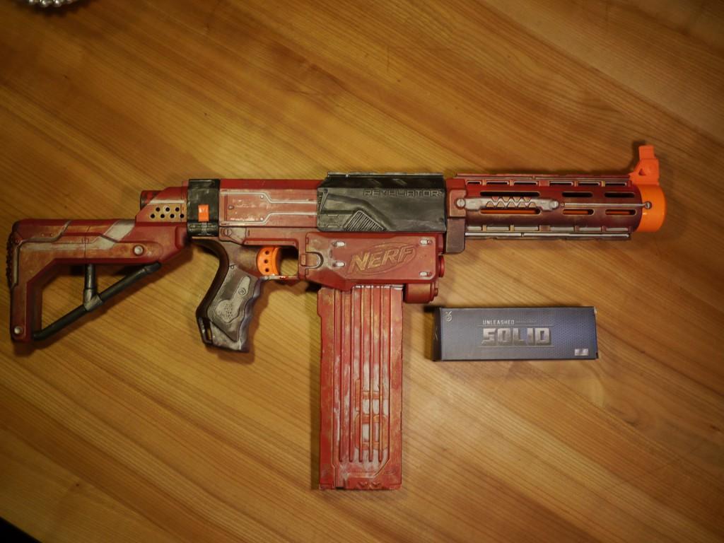 Retaliator Crimson Red