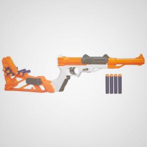 Nerf Blaster Sharpfire - Retaliator vs Alpha Tropper