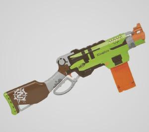 Nerf Zombie Strike Slingfire - Retaliator vs Alpha Tropper