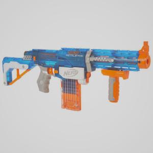Retaliator Blau transparent - Retaliator vs Alpha Tropper