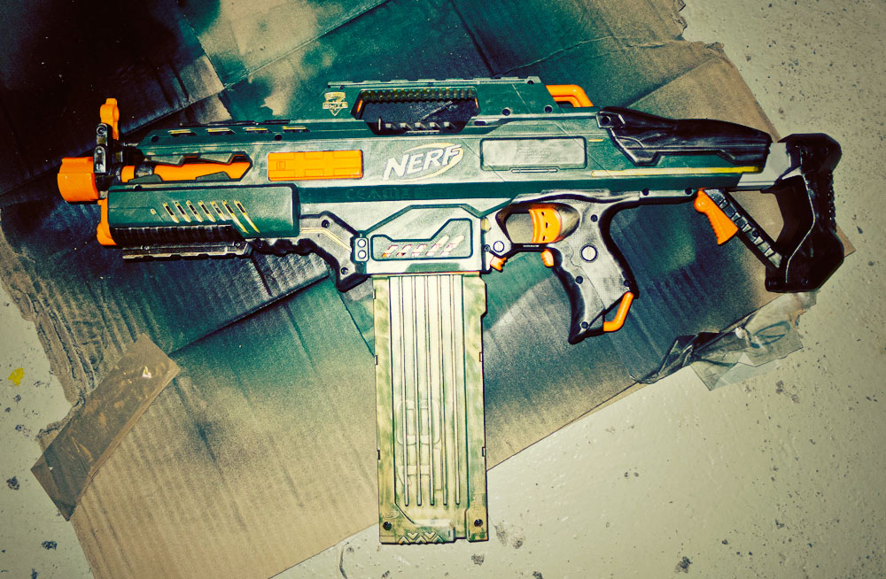 Rapidstrike Modifikation Paintjob