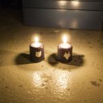 Bär und Fux Kerzen für Nerfnachten