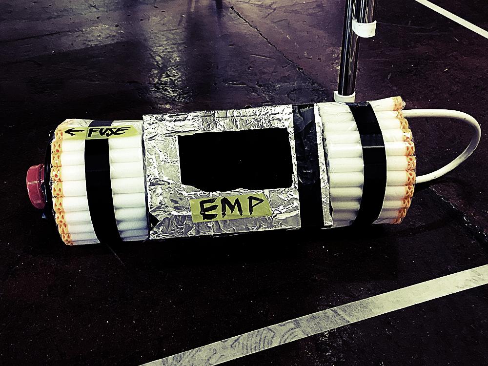 Fake Nerfbombe (EMP) vom Nerfevent