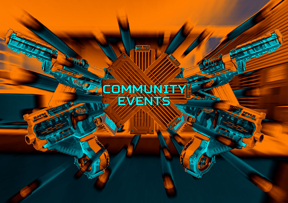 Flyer Nerf Community Events